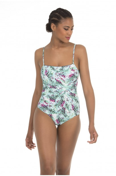 More about WIRELESS SQUARE NECKLINE SWIMSUIT