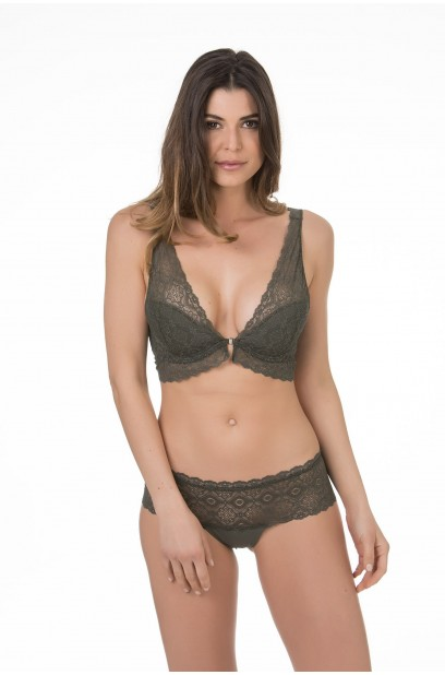 More about DEEP NECKLINE BRALETTE