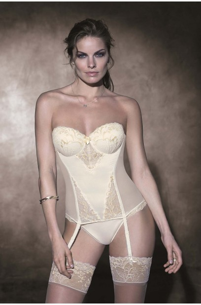 Corselet push up semicontrol