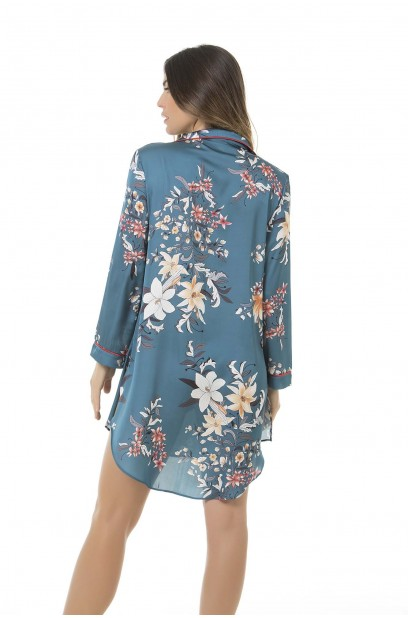 LONGSLEEVE NIGHTGOWN