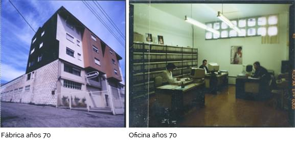 Factory and office in the 70's.