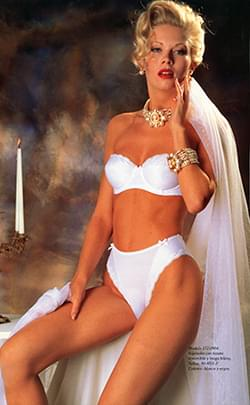 Lingerie from the 80's.