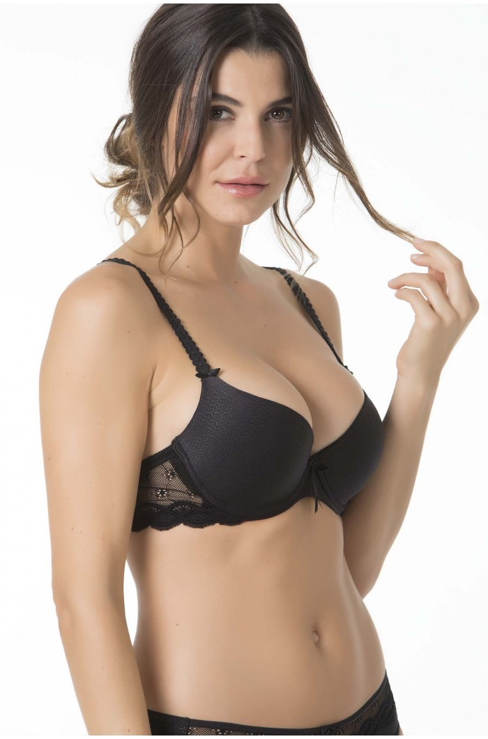 8ea0a8466 SOUTIEN PUSH UP COM ENCHIMENTO Color  004-NEGRO